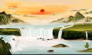 学问如大江涌动的潮水(授权图片)