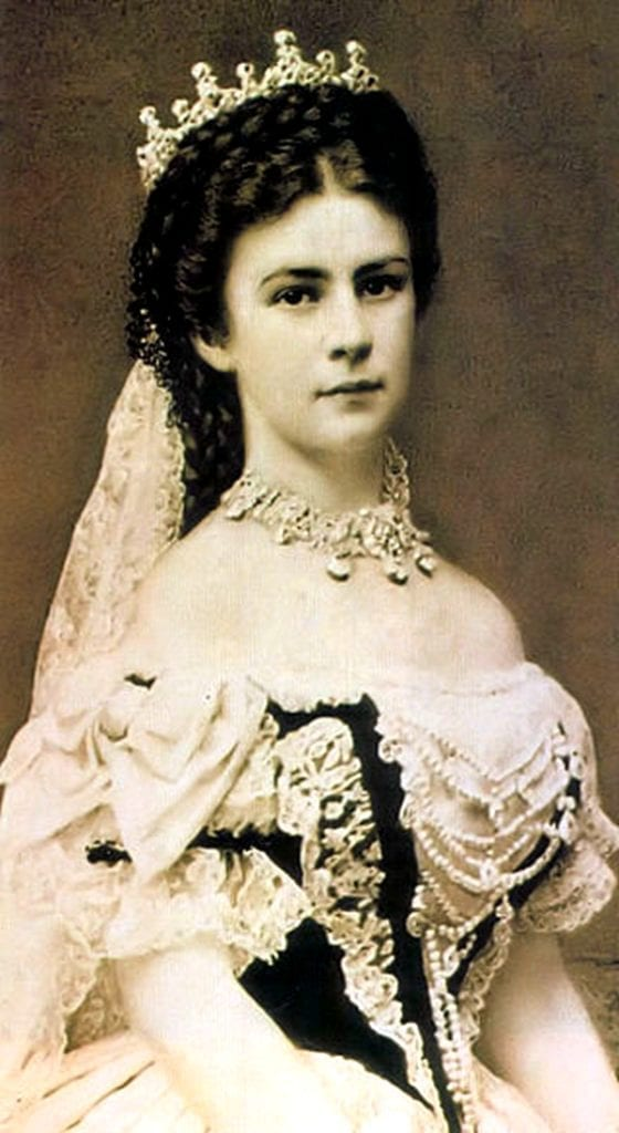 奥地利皇后伊丽莎白(1837-1898)的照片(图片来源:维基百科)