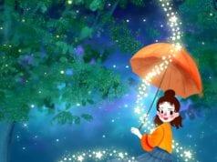 快乐的幻影像金色的梦(授权图片)