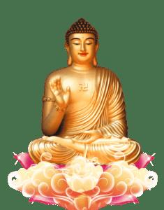 战胜诱惑的悉达多,在十二月八日黎明,东方晓白时,打破老病死等苦恼的根源,悟道了宇宙大法中他这个层次的完全的真理。瞿昙悉达多此时三十五岁,这就是释迦摩尼成道之说。悉达多被称为释迦摩尼佛世尊