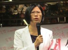 台灣法輪功人權律師團發言人朱婉琪(图片来源:维基百科)