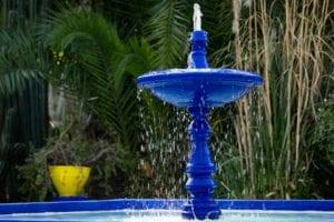 那一抹钴蓝色是马略勒花园最浓重诱人的颜色,这赋予它独特的东方风格(图片:pixabey)