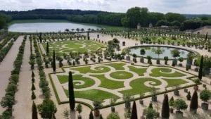 凡尔赛宫的花园