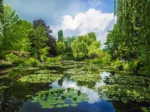 莫奈花园(图片:pixabey)