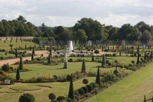 汉普顿宫 花园