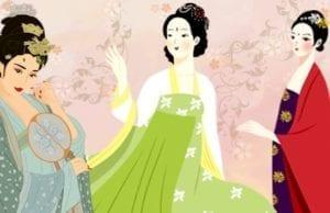 中国古代女子发髻美不胜收:青丝渐绾玉搔头,簪就三千繁华梦(图片来源:欧洲希望之声合成)