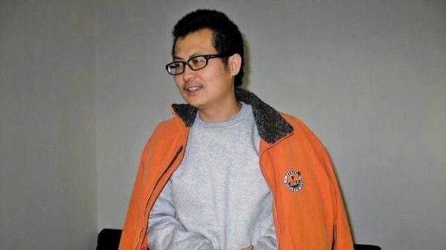 郭飛雄早年留影。(網絡圖片)