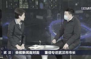武汉市长周先旺上央视甩锅