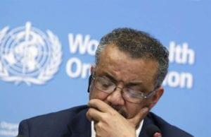 美国总统川普致信世界卫生组织(WHO)秘书长谭德塞下最后通牒。
