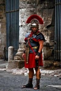 当时罗马士兵的装饰