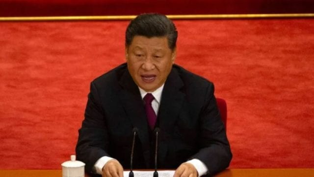 中共政局暗涌不断,习近平面临巨大压力。(美联社图片)
