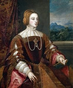 神圣罗马帝国皇帝——查理五世的妻子葡萄牙的伊莎贝拉(Isabella of Portugal)。(图片来源:维基百科)