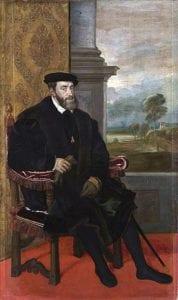 神圣罗马帝国皇帝查理五世是哈布斯堡王朝争霸时代的主角,更是西班牙日不落帝国时代的揭幕人。(图片来源:维基百科)