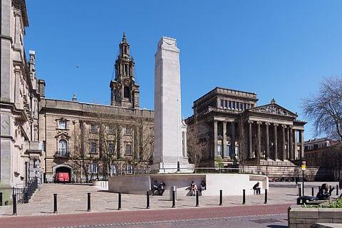 英国普雷斯顿市(维基百科图片)
