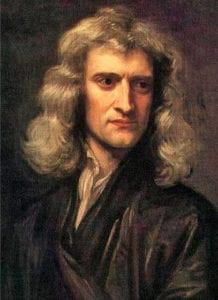 牛顿画像,戈弗雷·内勒作于1689年