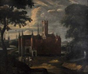 神圣罗马帝国皇帝查理五世出生在根特(现比利时境内),这是他洗礼活动时的场景。该画作为匿名,现保存于根特市博物馆。(图片来源:维基百科)