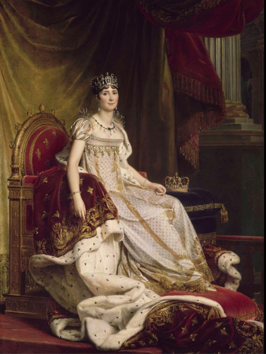 约瑟芬皇后画像