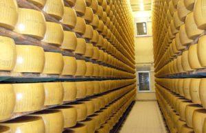 """意大利著名的帕马森奶酪(Parmigiano-Reggiano)存放在意大利的银行中,被称为""""可食用的黄金"""",以价格昂贵著称。(图片来源:piqsels)"""