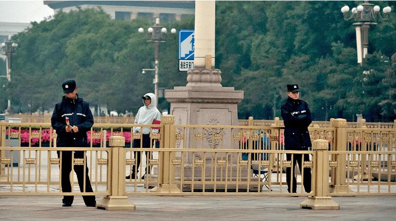 中共人权劣迹斑斑。图为北京天安门广场(美联社)