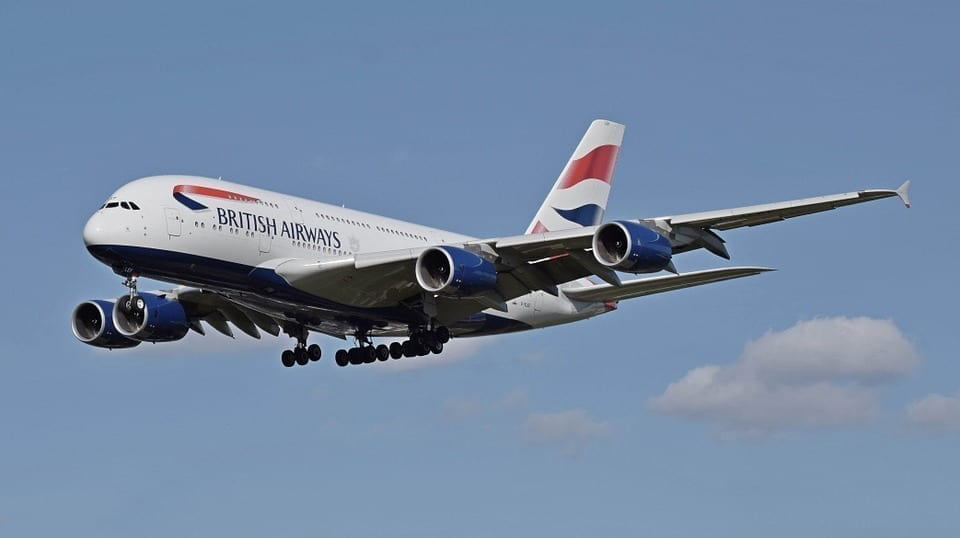 英国航空公司因数据泄露而被罚款2000万英镑