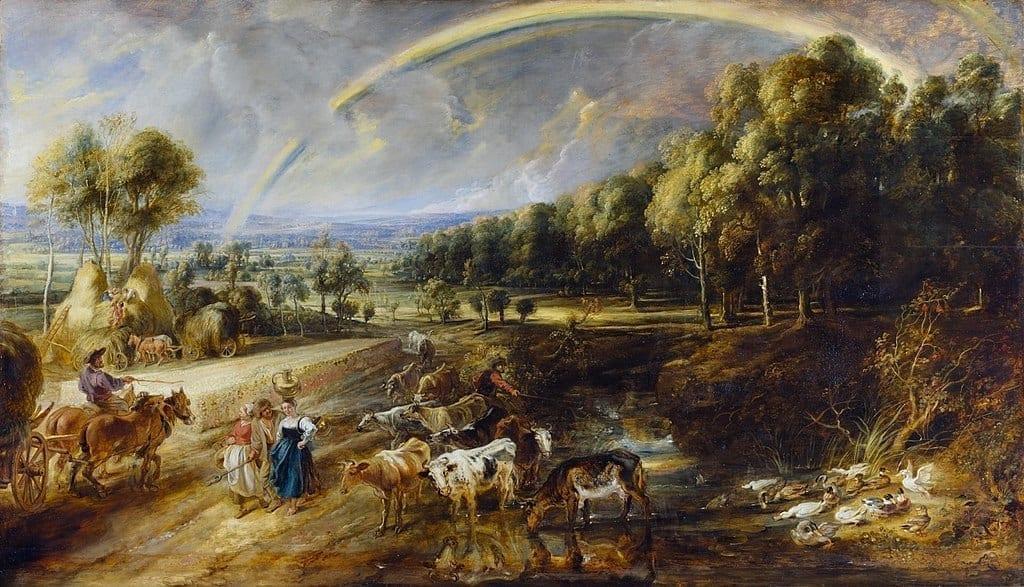 伟大的巴洛克画家鲁本斯:我的灵感来自天上。