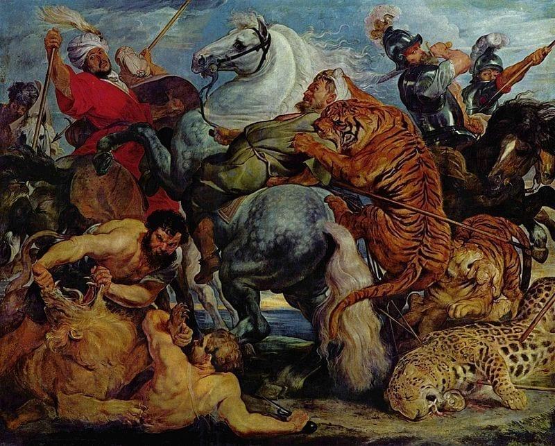 伟大的巴洛克画家鲁本斯:我的灵感来自天上