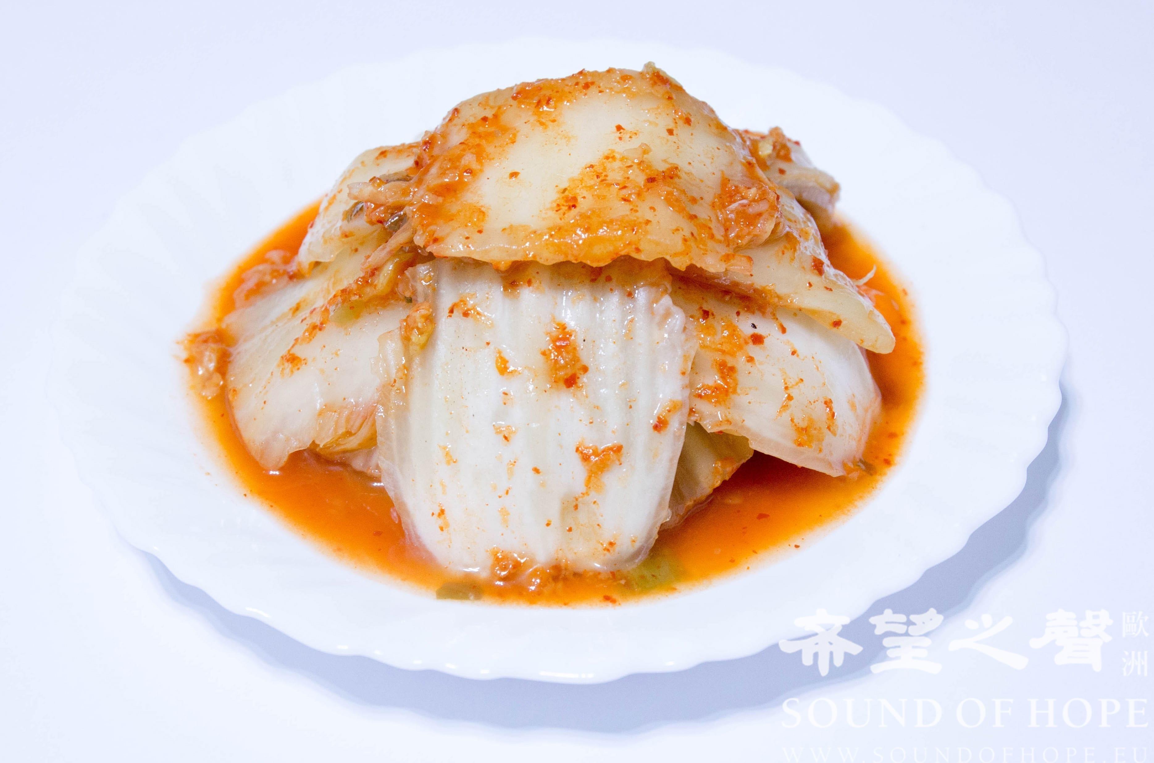 韩国泡菜(图片来源:欧洲希望之声 麦克)