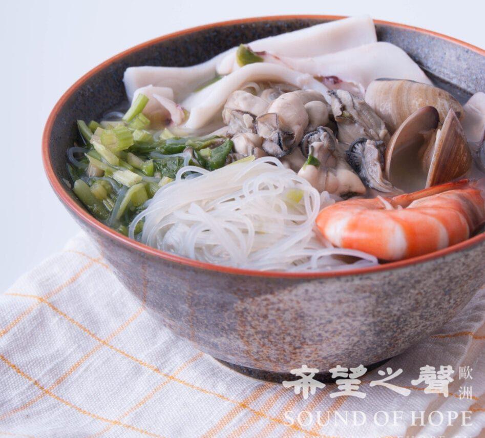 海鲜 米粉汤 食谱 家常