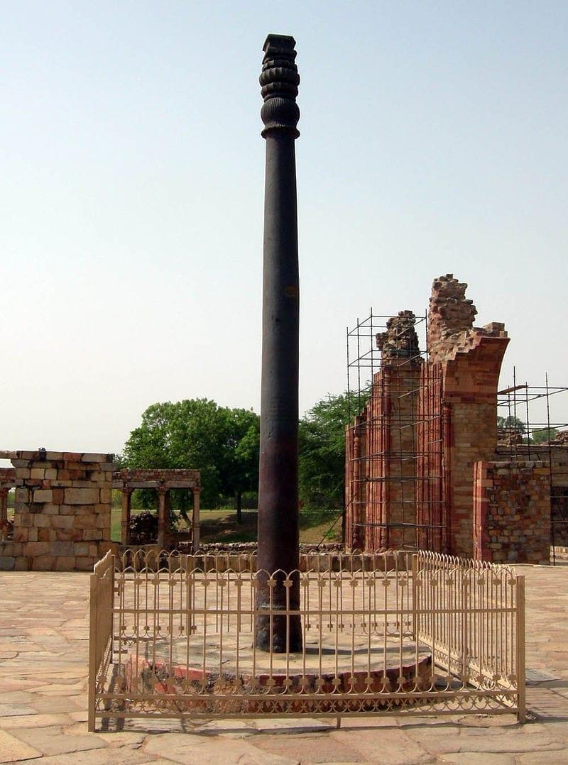 印度,德里铁柱,铁柱,史前文明,遗迹,圣经