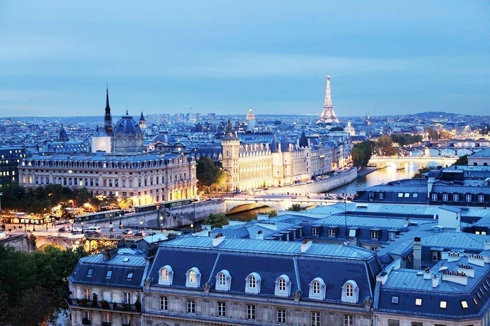 法国 巴黎 屋顶