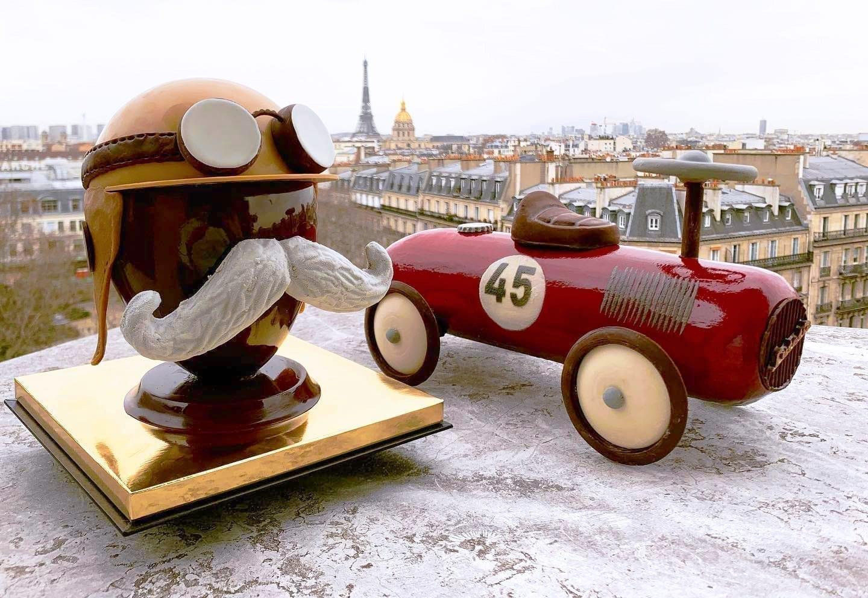 巴黎 美食 巧克力蛋