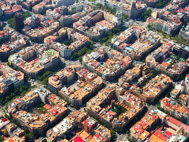 巴塞罗那 特色 城市规划