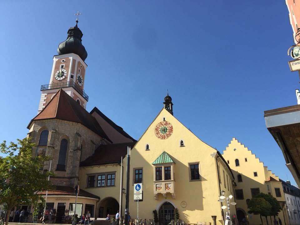 德国小镇 德国旅游 拉姆