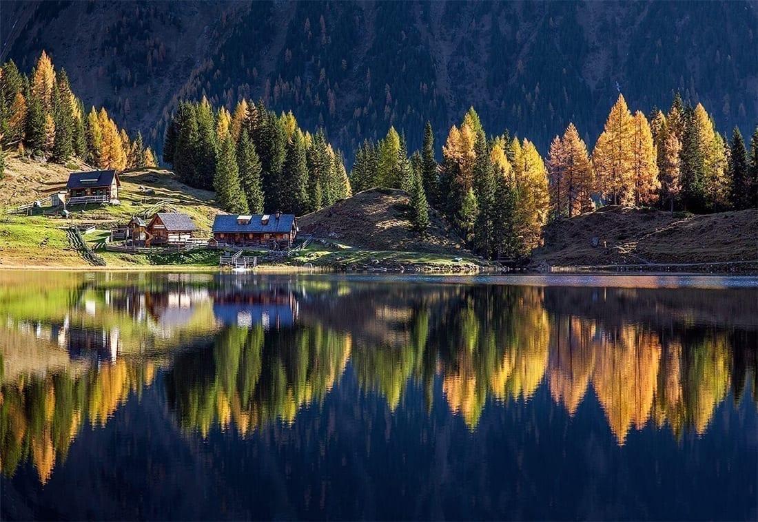 奥地利 旅游 湖泊