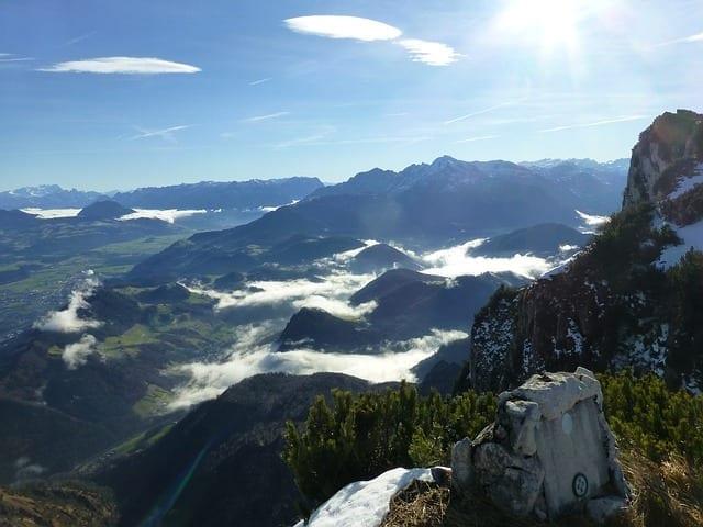 德国 奥地利 温特斯山脉